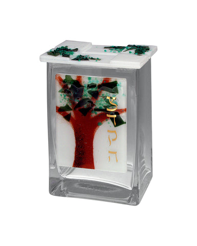 Pushke Tzedakah Box Tree of Life