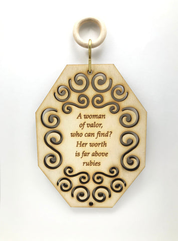 Woman of Valor Wall & Window Hanging