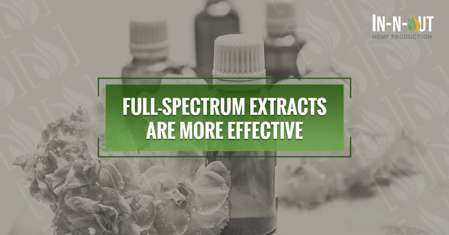 Full-Spectrum Extracts are More Effective