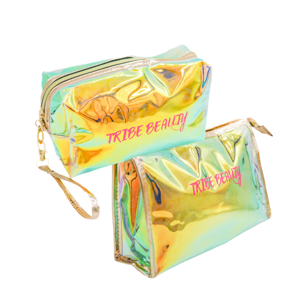 TRIBE BEAUTY - Holographic Bag