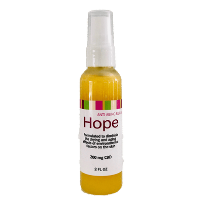 HOPE - CBD-Infused Anti-Aging Serum Infused With Full Spectrum Hemp Extract