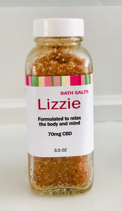 LIZZIE - CBD-Infused Bath Salts - 70 mg