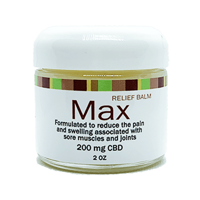"MAX - AKA ""BEN"" - CBD Infused Relief Balm With Full Spectrum Hemp Extract"