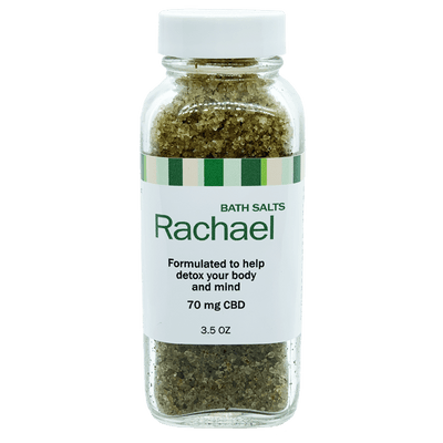 RACHAEL - CBD-Infused Bath Salts With Full Spectrum Hemp Extract