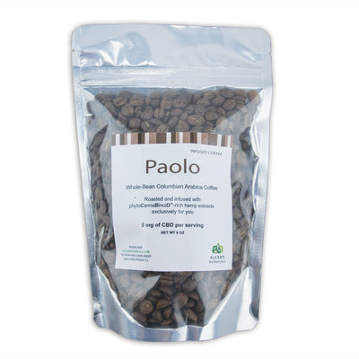 PAOLO - CBD Infused Coffee - 5 mg