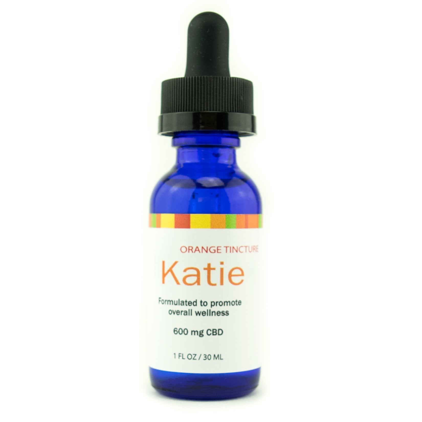 CBD Infused Orange Tincture - Katie!