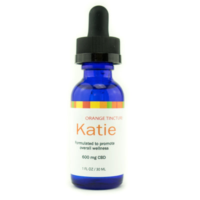 KATIE - Orange Flavored Hemp Derived CBD Infused Tincture