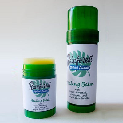 HEALING BALM - With Cacao, Horsetail, Lemon Grass & Hemp Flower Oil