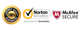 Satisfaction Guarantee Norton Secure McAfee Secure
