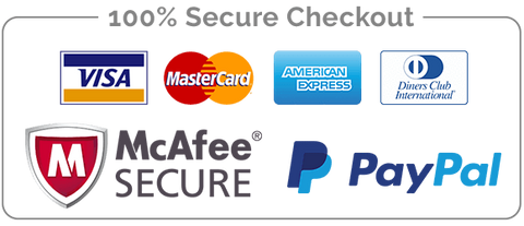 %100 Secure Safe Checkout