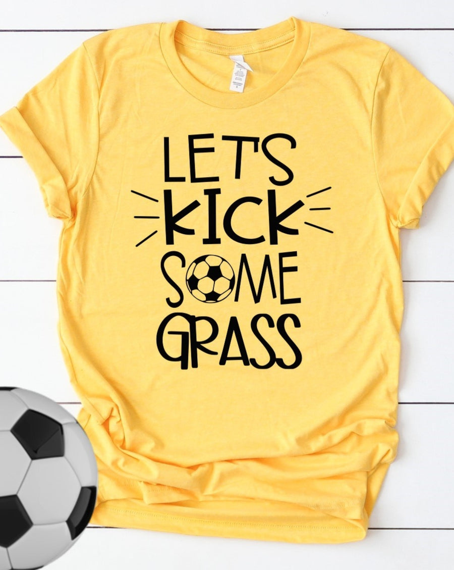 Kick Some Grass Tee