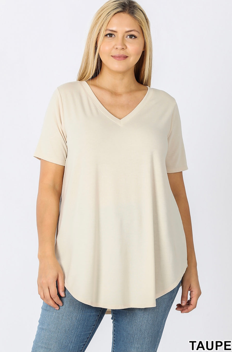 Oats & Honey V-Neck Tee