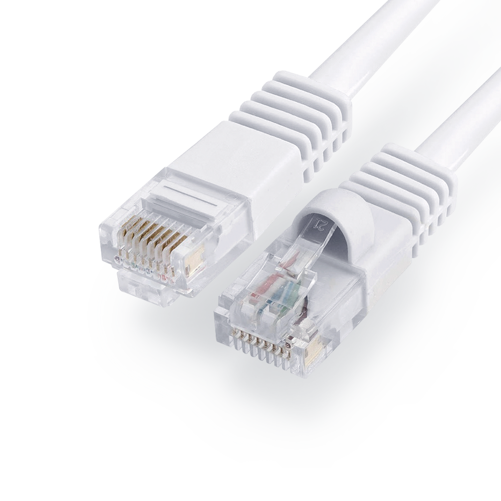 Loss Prevention Analytics® CAT5E Cable 100ft White