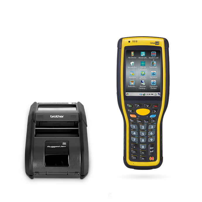 Inventory Scanner and Mobile Printing Solution