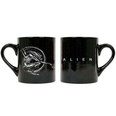 Alien Building Better Worlds Black Mug