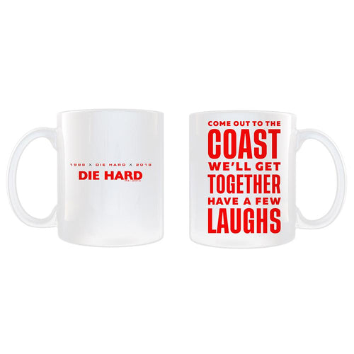 Die Hard Laughs Mug