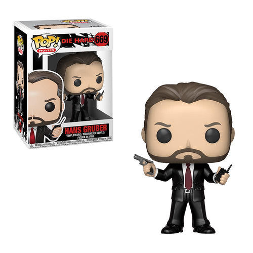 Die Hard Hans Gruber Pop! Figure