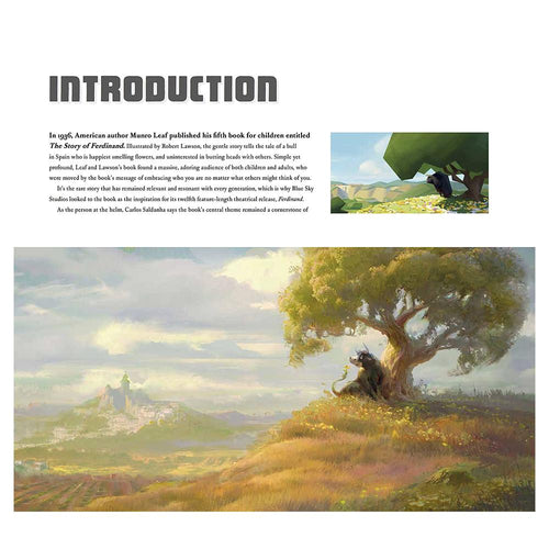 The Art of Ferdinand Hardcover Book
