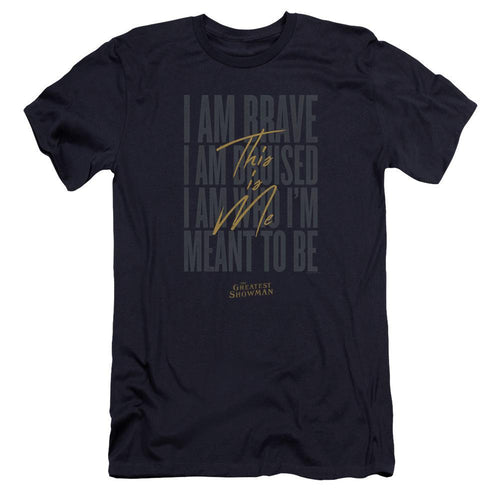 The Greatest Showman This Is Me Navy T-Shirt