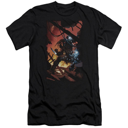 Predator Comic Black Tee