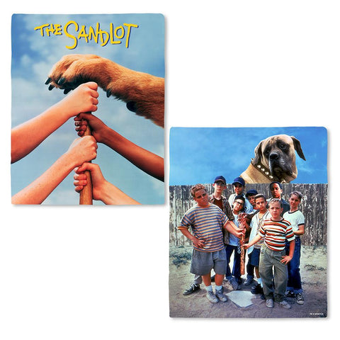 The Sandlot Legends Never Die Fleece Blanket