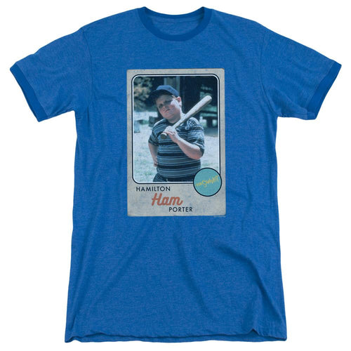 The Sandlot Ham Ringer Blue T-shirt