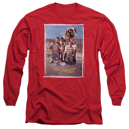 The Sandlot Beast Red Long Sleeve