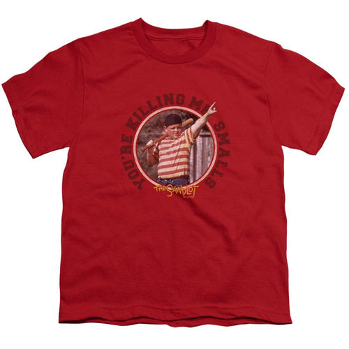 The Sandlot Killing me Youth Red Tee