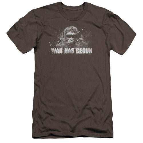 War for the Planet of the Apes War Has Begun Adult Charcoal T-Shirt