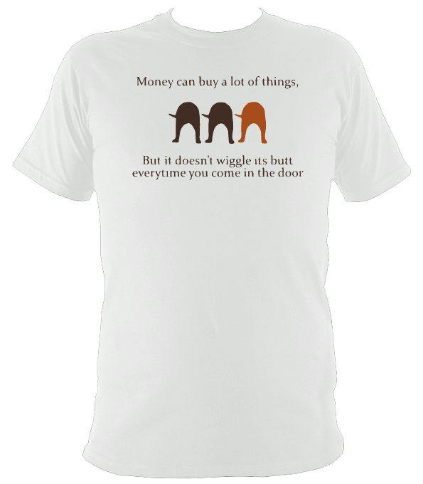 Wiggle butt T-Shirt - The doglost doggy shop