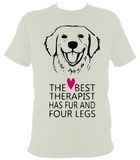 Best Therapist T-Shirt - The doglost doggy shop