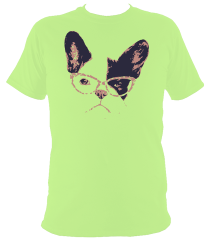 Bespectacled Dog T-Shirt