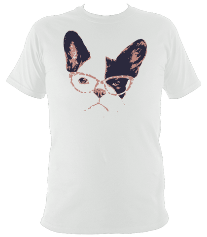 Bespectacled Dog T-Shirt - The doglost doggy shop