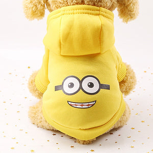 Cartoon Hoodies for Pets