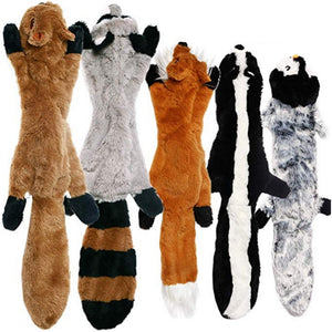 Squeaky Plush Dog Toys