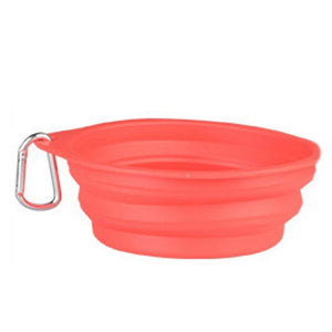 Portable Silicone Dog Bowl