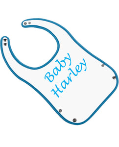 Baby Boy Name - Personalised Bib - The Print Cave