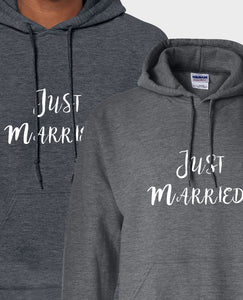 Just Married - Hoodie Set - The Print Cave
