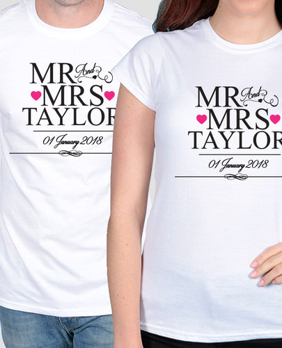 Officially Mr & Mrs Set