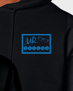Mr & Mrs Travel Stamps - Hoodie Set