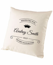 Best Grandmother - Cushion - The Print Cave