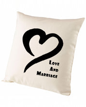 Love & Marriage - Cushion - The Print Cave