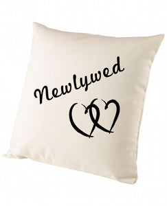 Newlywed - Cushion - The Print Cave