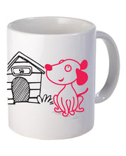 'Lola' The Dog Mug - Set - The Print Cave