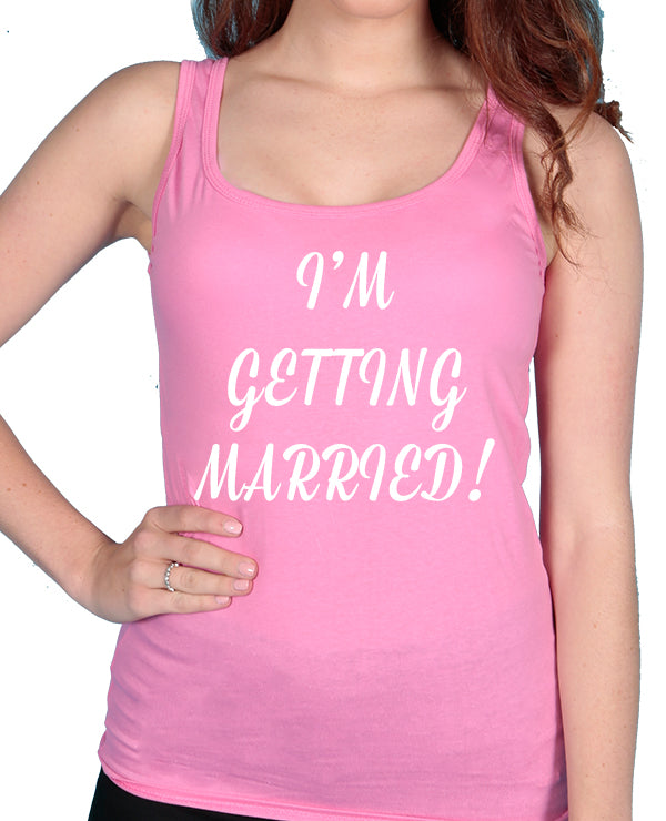 Getting Married - Tshirt / Vest - The Print Cave