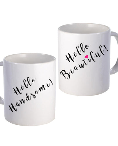 Beautiful People - Couples Mugs - The Print Cave