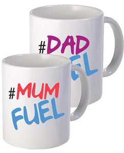 Mum & Dad Fuel Set - Mug - The Print Cave