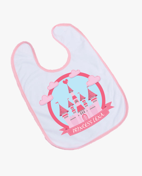 Princess - Personalised Bib - The Print Cave