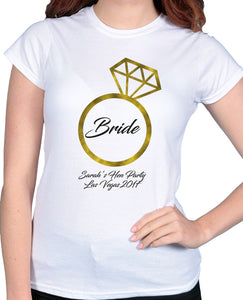 Ring Bride - Tshirt / Vest - The Print Cave