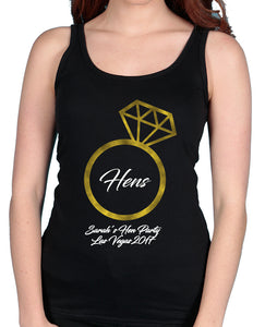 Ring Hen - Tshirt / Vest - The Print Cave